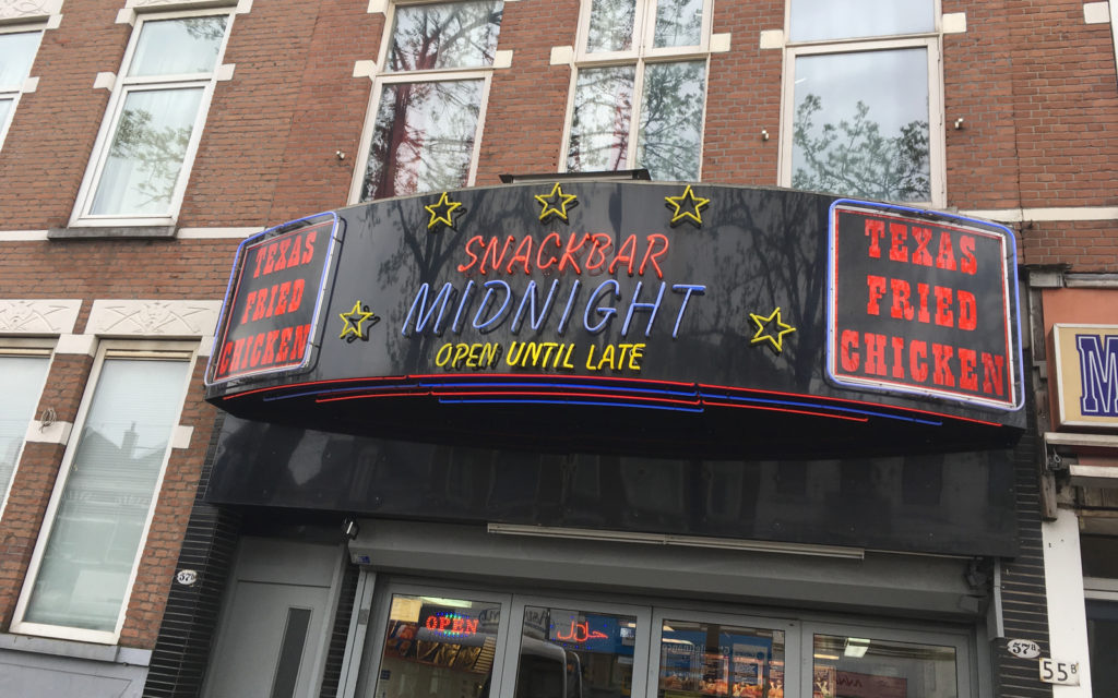 Snackbar Midnight